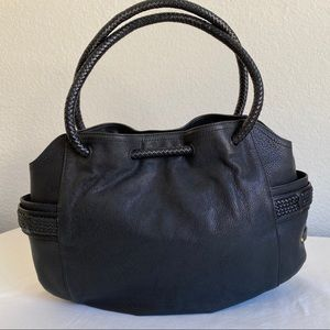 Cole Haan black Denny leather bag
